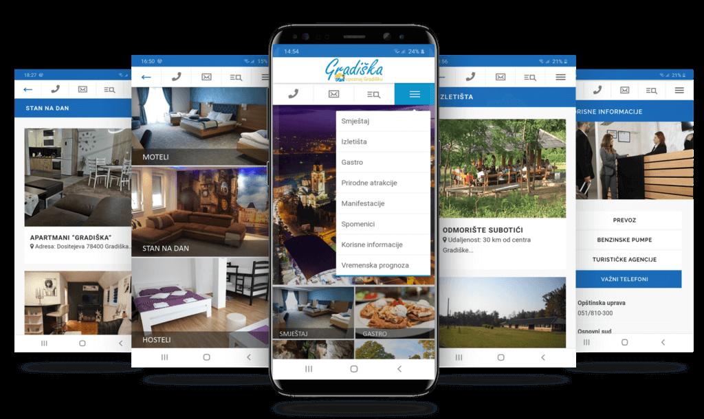 Upoznaj Gradišku app